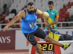 asian games 2018 tajinderpal singh wins gold in mens shot put