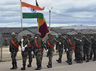 indo pak military drill opposition raised questions