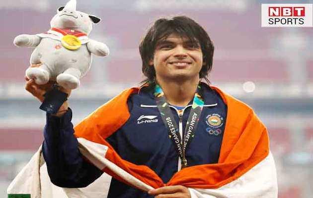 एशियाड गोल्ड जीतने पर नीरज चोपड़ा को राष्ट्रपति, पीएम ने दी बधाई