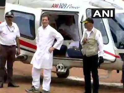 राहुल ने एयर ऐम्बुलेंस को पहले भेजा