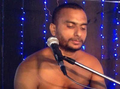 जैन मुनि विश्रांत सागर (फाइल फोटो)