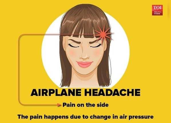 एयरप्लेन सिर दर्द