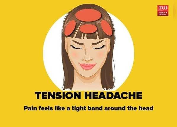 तनाव के कारण सिरदर्द
