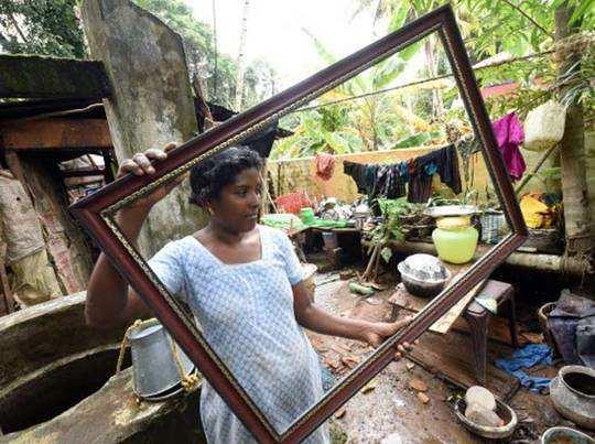 केरल में बारिश से भारी तबाही हुई
