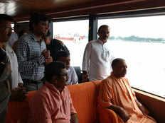 luxurious cruise will be run on ganga in varanasi cm yogi adityanath inaugurated