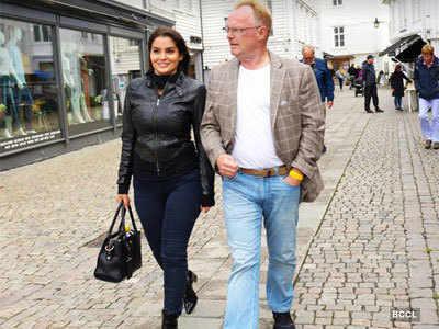गर्लफ्रेंड के साथ पीर सैंडबर्ग