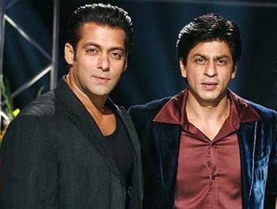 Image result for शाहरुख़ खान व  सलमान खान