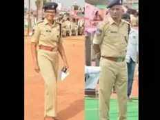 police officers daughter becomes his senior officer he says i salute my daughter when we are on duty