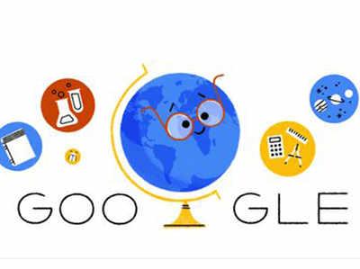 गूगल का टीचर्स स्पेशल डूडल