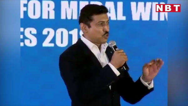 forget about obstacles think only about your capabilities rajyavardhan singh rathore to athletes