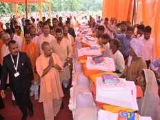 we have increased relief material for floods effected people says cm yogi adityanath