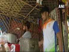 asian games bronze medalist sells tea for living