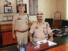 why was top cop of jammu kashmir sp vaid removed unceremoniously