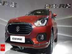 maruti dzire comes down as the second best selling car in india