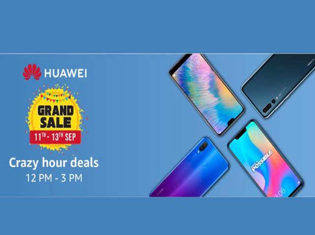 Huawei Grand Sale शुरू, मिल रही ₹10,000 तक की छूट