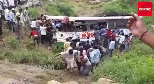 road mishap at kondagattu