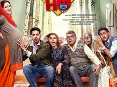 Image result for Badhaai Ho posters