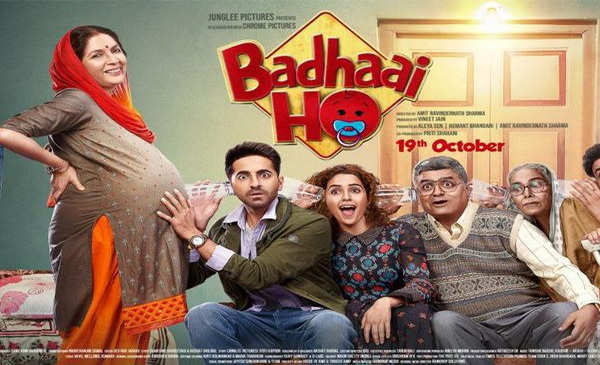 badhai ho trailer launch ayushman khurana sanya malhotra reaction
