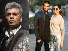 karan johar confirm ranveer singh and deepika padukone wedding