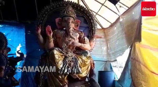 clay ganesha idols in hyderabad