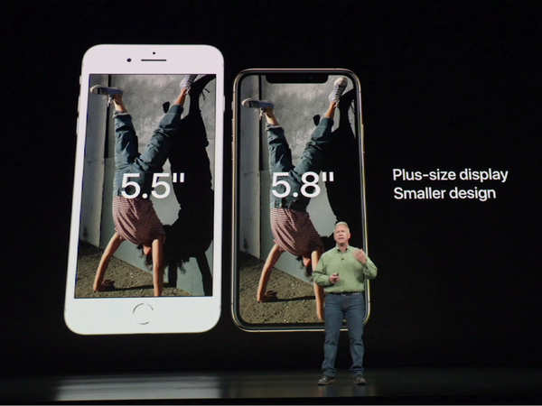 apple unveils biggest iphones yet fans elated with plus size display in smaller design