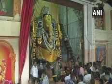 people visit puliakulams vinayagar temple on the occasion of ganesh chaturthi to coimbatore