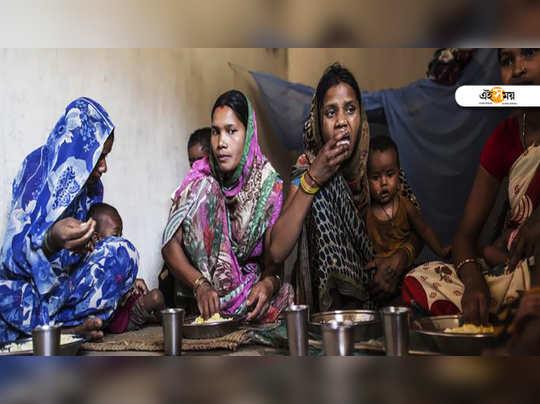 পুষ্টি প্রকল্প চলাকালীনই যোগীরাজ্যে অনাহারে মৃত মা ও দুই সন্তান