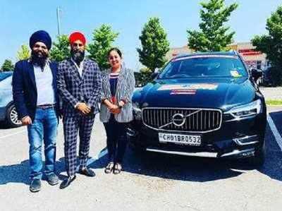 Punjabi Kapal Ne Sadak Ke Raaste Naap Daali 'Duniya', Car Se Kiya 30 Deshon Ka Safar