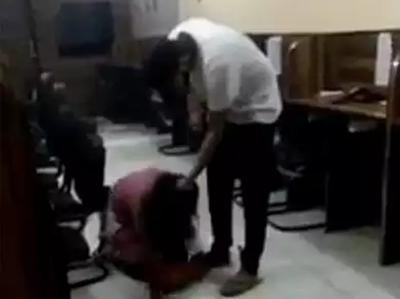 Vidiyo Mein Ladki Ki Pitaai Karta Dikha Yuvak Arest