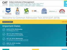cat 2018 two days left for exam registration