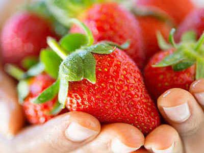 स्ट्रॉबेरी में पिन के अब तक 9 मामले दर्ज