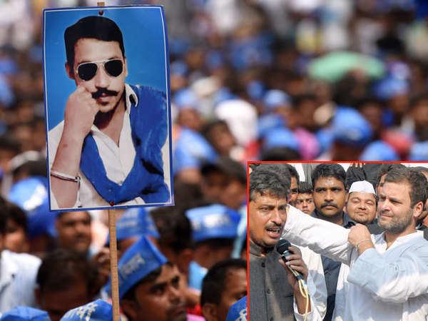 congress courts bhim army chief chandrashekhar azad ravan in fight for dalit votes