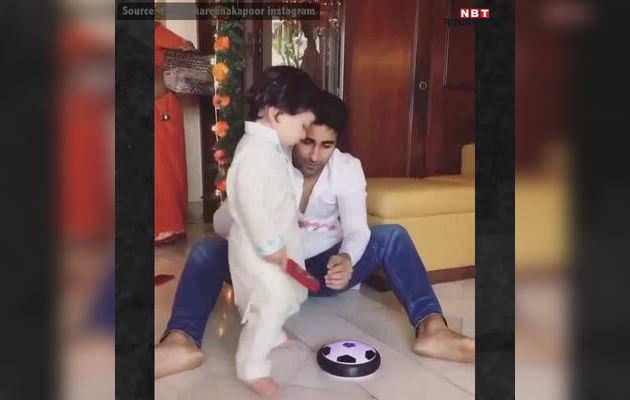 विडियो: मामा के घर पहुंच तैमूर ने जमकर की मस्ती