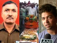 martyred bsf head constable narendra singhs son demand action