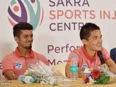 sunil chhetri inaugrated sakra sports injury centre