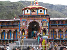 lord badrinath reached matamurthi on bawan dwadashis occasion