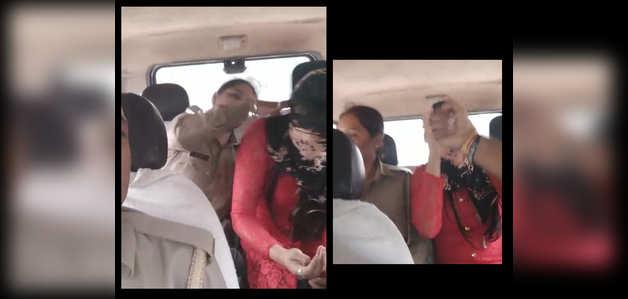यूपी पुलिस की मोरल पोलिसिंग, मुस्लिम युवक के साथ रिश्ते पर की लड़की की पिटाई