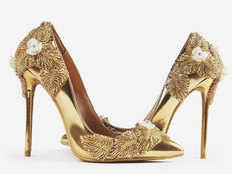 made of gold and diamond worlds most expensive sandals costs 123 crore rupees