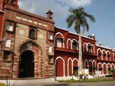 aligarh muslim university male faculty occupied female toilets
