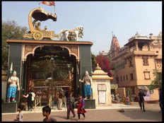 timing change for devotees in mathura vrindavan temples due to winters