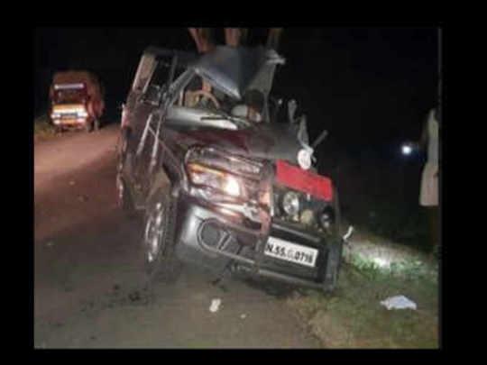 Tahsildar Car accident