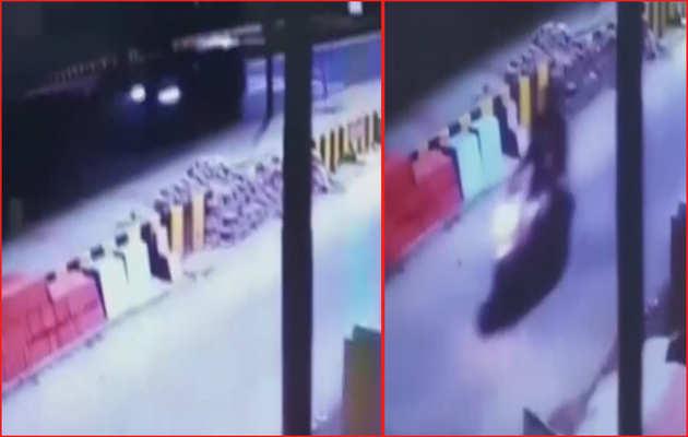 विवेक तिवारी मर्डर: CCTV फुटेज से खुली आरोपी पुलिसकर्मी प्रशांत चौधरी के दावों की पोल