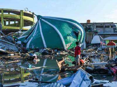 इंडोनेशिया में भूकंप के कारण हुई है भारी तबाही