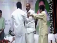 lt governor kiran bedi and aiadmk leader caught in a squabble