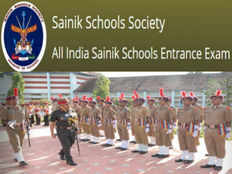 all india sainik school entrance exam notification 2019 20 session