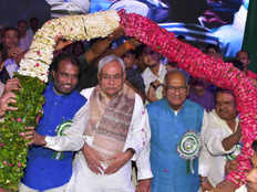 no one can change the reservation of scheduled castes and scheduled tribes says nitish kumar