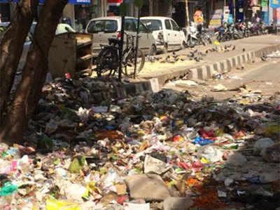 Image result for दिल्ली में सफाईकर्मियों की हड़ताल