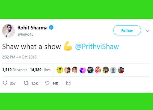 क्या शो है: रोहित शर्मा
