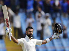 indian captain virat kohli second fastest to score 24 test centuries