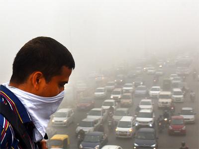दिल्ली में लगातार दूसरे दिन खराब रही हवा की गुणवत्ता